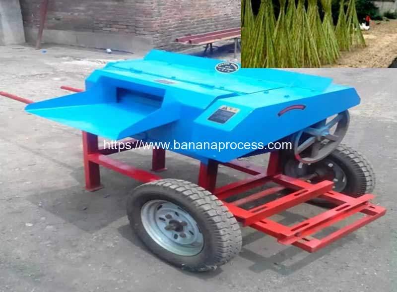 Diesel-Engine-Type-Banana-Tree-Fiber-Extractor-Machine