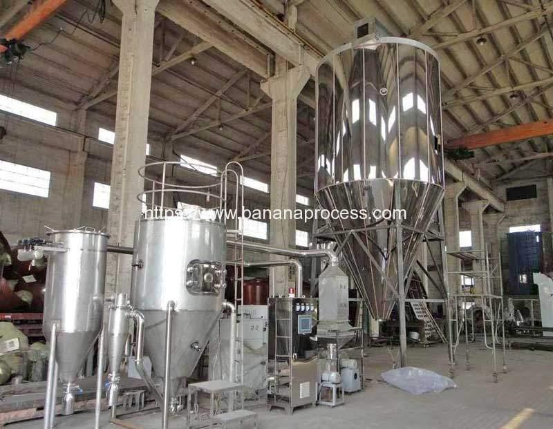 Automatic-Banana-Flour-Spray-Dryer-Machine