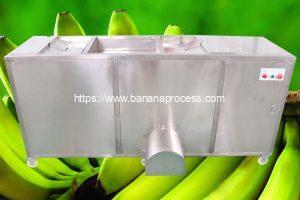 Auto Feeding Double Belt Green Banana Peeling Machine 2021